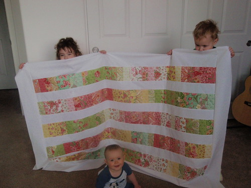 Spring Magic Coin Quilt