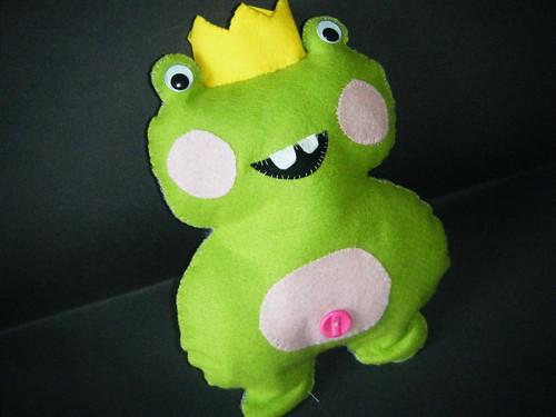 Plush Frog Prince