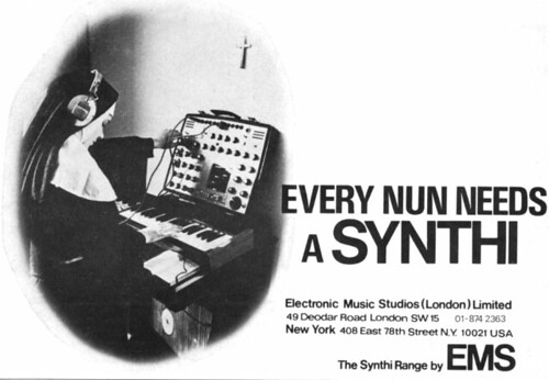 every nun needs a synthi
