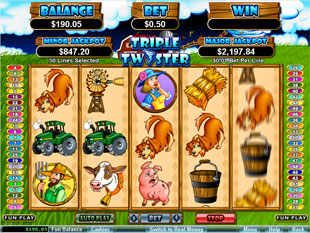 Triple Twister slot game online review