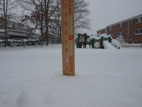 23 inches, 20.5 from this storm