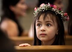 Little wedding angel (Ed Trillo) Tags: california wedding girl groom bride bill dance los angeles hills reception beverly flowergirl blisan