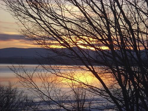 sunrise 2/9/10 Westport, NY