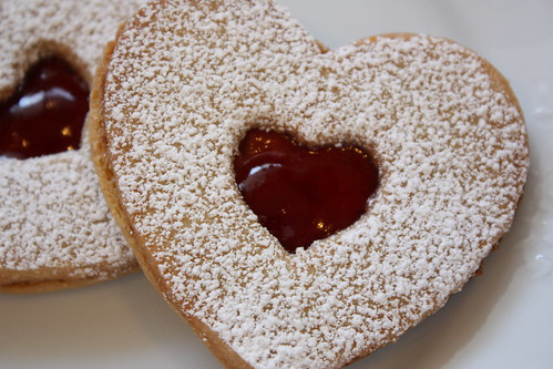 Valentine's Linzer Cookies - Completely Delicious