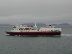 Westeralen sailing to Bergen
