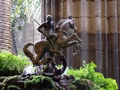 Claustro, Catedral de Barcelona.