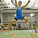 Kevin Keller of Darien finished the long jump in second place