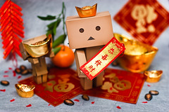 Happy Chinese New Year! ! (Ali Tse) Tags: toy toys amazon chinese culture chinesenewyear cny limited  danbo revoltech jfigure danboard