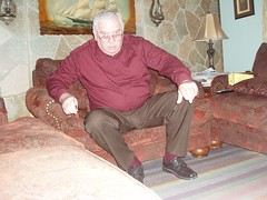 Poppa 004 (staggerlee1) Tags: people sitting grandfather grandpa sit granddad granddaddy seated poppa