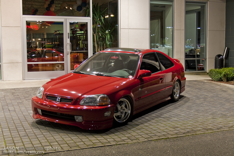 Df A A O on 98 Civic Front Lip