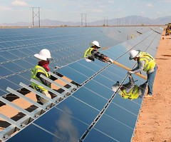 Instalación Parque Fotovoltaico First Solar