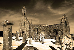 Winter at Old Pitsligo Parish Church near Rosehearty (w11buc) Tags: winter church canon ruins aberdeenshire 7d fraserburgh rosehearty 5photosaday pitsligo greatscot