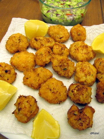 shrimp and fish cakes