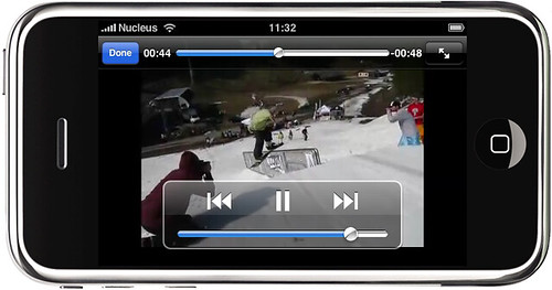 mpora video iphone