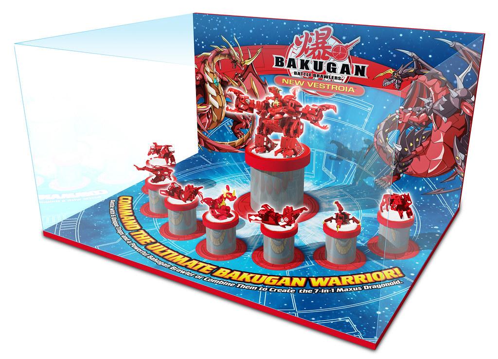 Bakugan In-Store Diorama