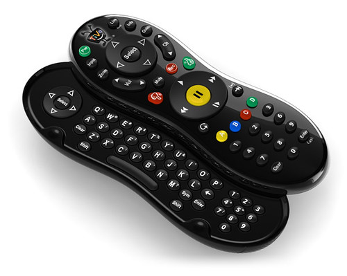 TiVo QWERTY remote control