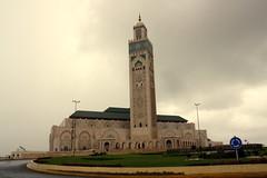 A segunda maior mesquita do mundo (Evandro Faleiro) Tags: casablanca marrocos hassanii