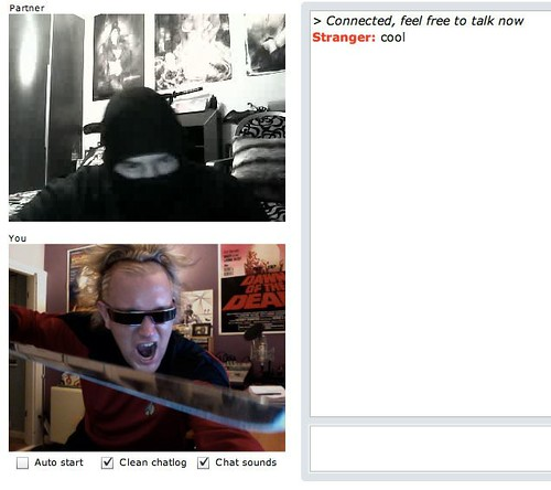 John B Luc Picard on Chatroulette