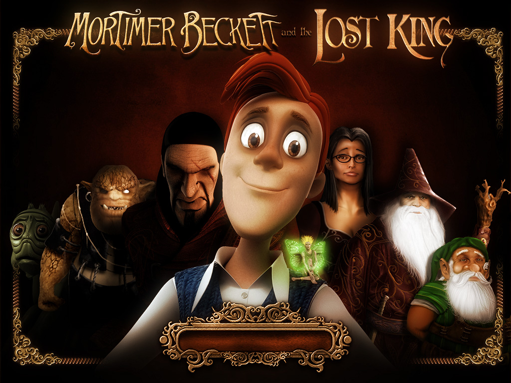 Mortimer Beckett and the Lost King load screen