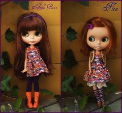 who wore it better? (camillaeatfiftyeggs) Tags: blythe flea sop babysbreath kozy wwib whoworeitbetter pamsprettydesigns applebean