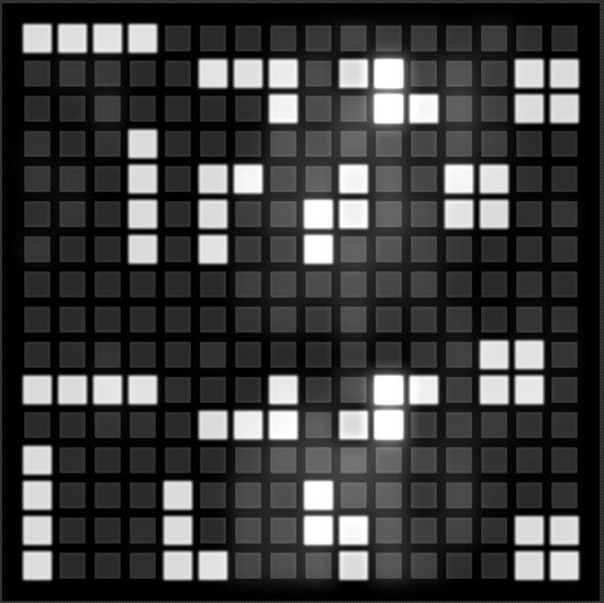 Tonematrix in tetris