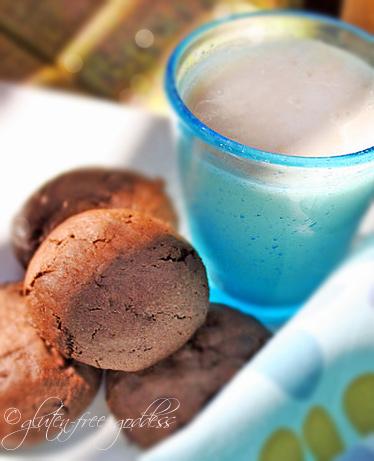 Gluten-Free Goddess Miint Chocolate Cookies