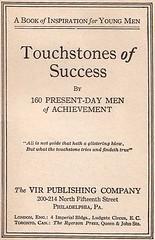 Touchstones of Success, 1920
