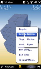 3D Mines Level
