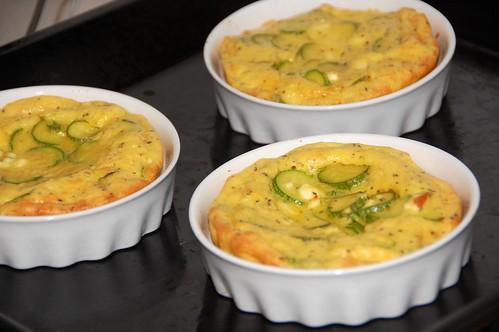 clafoutis feta e zucchine