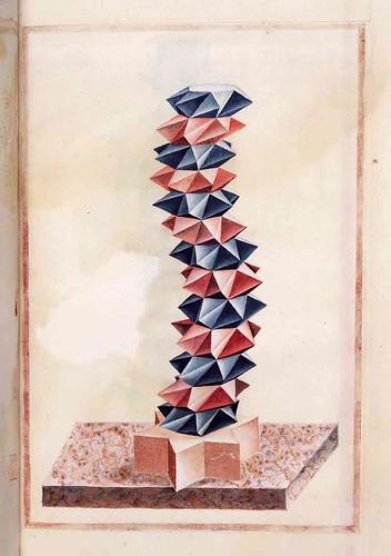 032-Geometrische und perspektivische Zeichnungen-Siglo XVI