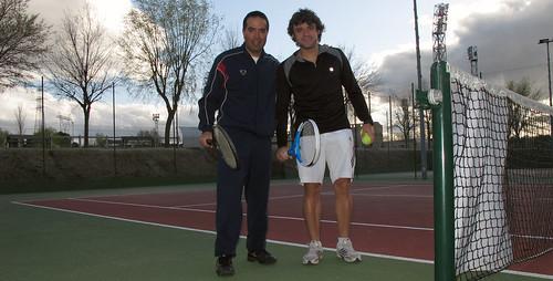 Nacho y Alberto tenis