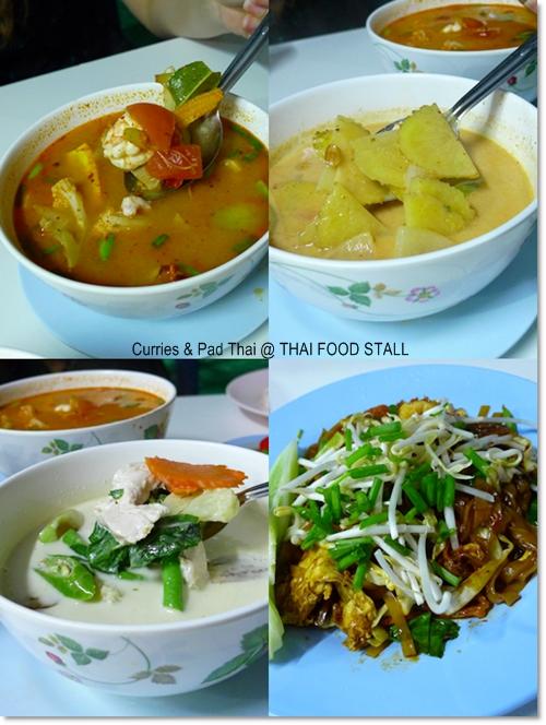 Dinner @ Thai Food Stall