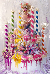 Wonderland : The Fairycake Godmother (Kirsty Mitchell) Tags: cake fairytale katie cupcake birthdaycake fantasy wonderland magical birthdaycandles fairygodmother amazingcake kirstymitchell elbievaneeden shotinmybackgarden oneofthehardestthingsiveeverdone thefairycakegodmother