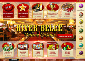 River Belle Casino Lobby