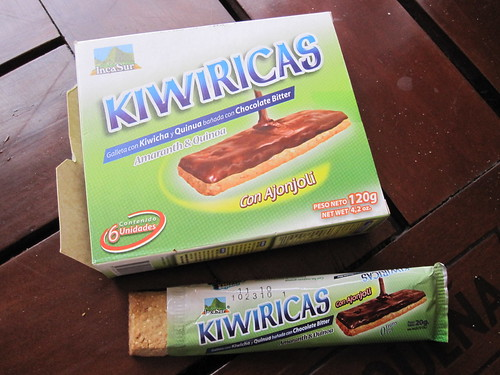 Kiwiricas - Quinoa and Amaranth Bars