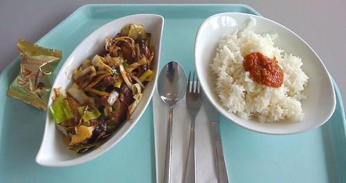 Ente in Tamarindensauce / duck with tamarind sauce