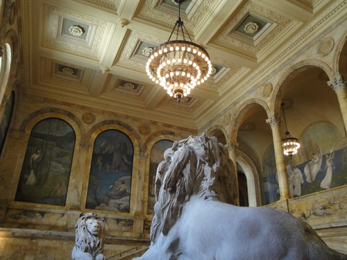 Boston Public Library, interior