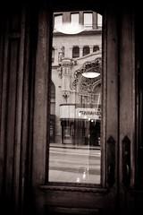 The Bradbury (Poteet Photo) Tags: ca reflection losangeles broadway downtownla bradburybuilding stefaniepoteetfineartphotography