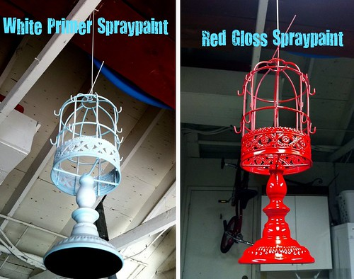 Stages of Spray Paint