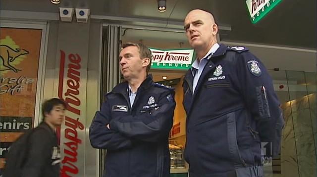 Sir Ken Jones and Simon Overland