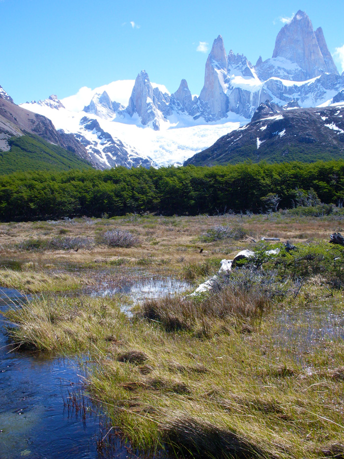 Photo Favorite Open View Of Cerro Fitz Roy Patagonia
