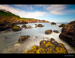 St Abbs Bay (blue fin art) Tags: longexposure rock canon bay 7d borders stabbs sescape tenstop