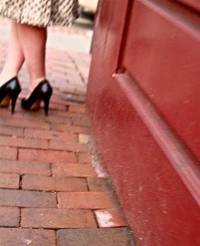 M Street heels
