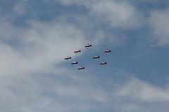 """Propeller Akrobatik der schweizer Luftwaffe mit dem PC - 7 Team mit Pilatus PC-7/CH """" Turbo Trainer """" über dem Flugplatz Bern Belpmoos in der Schweiz (chrchr_75) Tags: juni schweiz switzerland suisse swiss bern flughafen christoph svizzera berne internationale berna suissa 1106 2011 flugshow kanton chrigu kantonbern bärn belpmoos chrchr hurni chrchr75 bernbelp chriguhurni woche24 flugmeeting juni2011 belpmoostage chriguhurnibluemailch albumzzz201106juni hurni110619"""