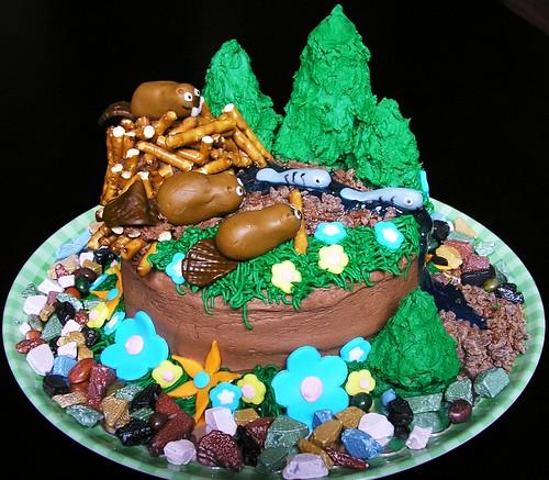 Beaver Cake 3