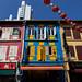 Façades du quartier chinois - Singapour