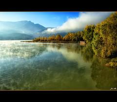 Niebla sobre el pantano (Jos Antonio Alba) Tags: lugar colorphotoaward homersiliad travelsofhomerodyssey