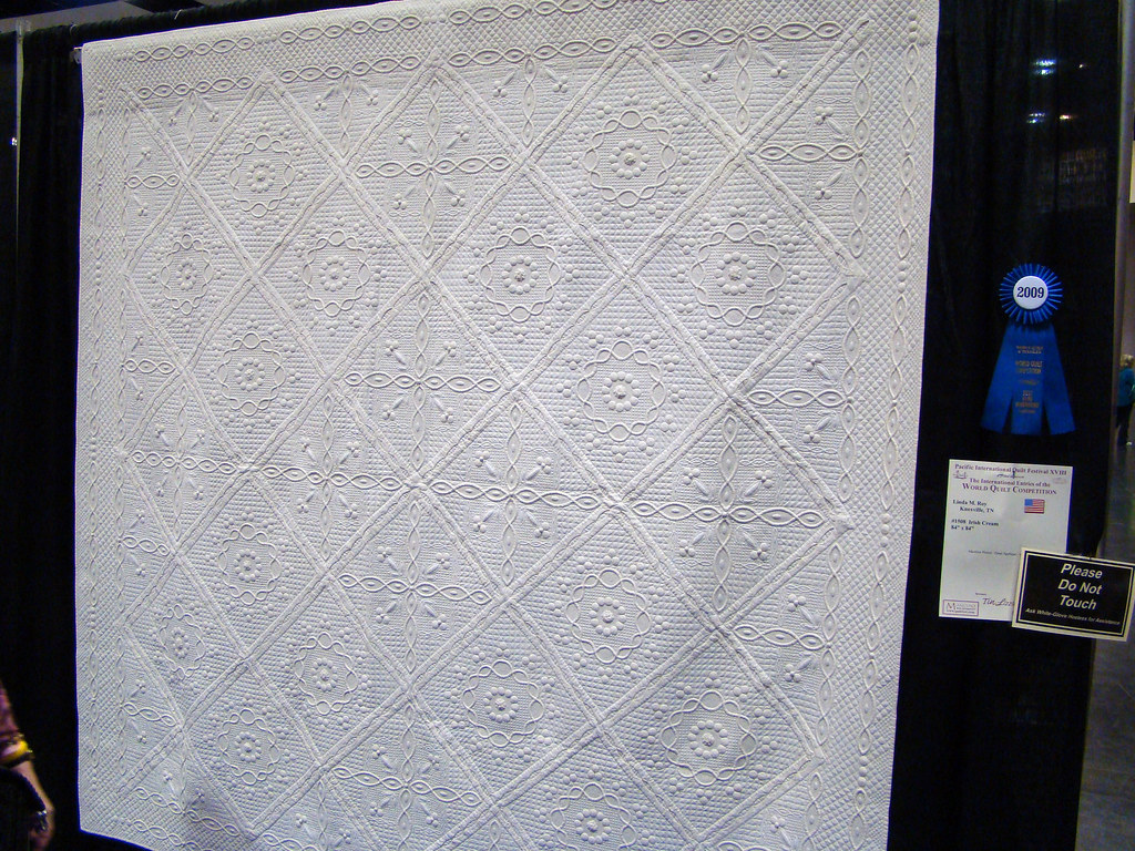 DSC02758 Quilt 1508 Irish Cream by Linda M Roy