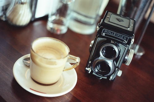 Coffee and Rollei