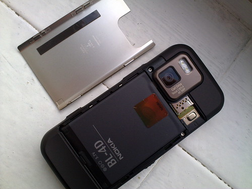 Nokia N97 mini with underspecced battery